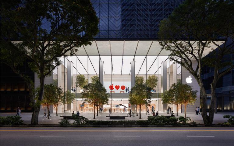 เปิดตัว Apple Store สาขาแรกของเอเชียตะวันออกเฉียงใต้ที่ถนน Orchard สิงคโปร์