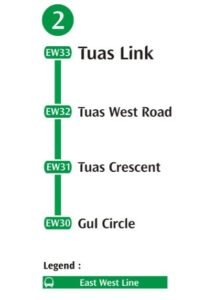 Tuas West Extension MRT Stations   Singapore Travellers