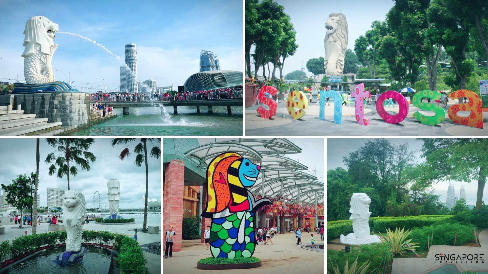 View Larger Image How Many Merlion In Singapore